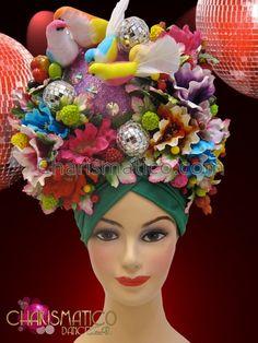 turban headdress showgirl - Google Search