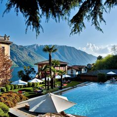 Grand Hotel Tremezzo, Lake Como, Italy. Take me there, please
