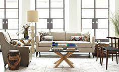 I love the west elm Living Room Looks on westelm.com