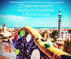 10 restaurants à essayer absolument à Barcelone   #tapas #sagradafamilia #ramblas
