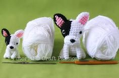 Crochet Amigurumi Dogs – free patterns – Grandmother's Pattern Book – Christmas in July!