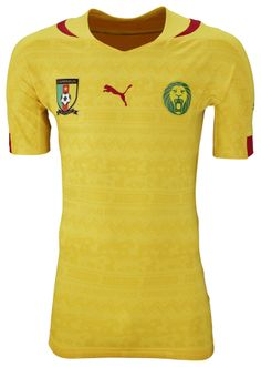 Cameroon Away Kit for World Cup 2014 #worldcup #brazil2014 #cameroon #soccer #football #CMR