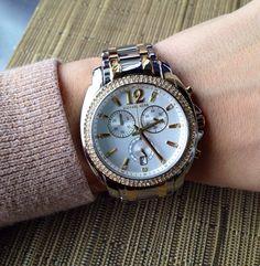 Michael Kors women's watch! Best anniversary present ever❤️