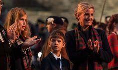 Sophie Wessex's children support dad Prince Edward in Edinburgh