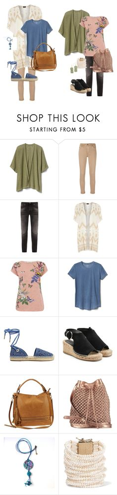 """""""Either-Or"""" by l-draper ❤ liked on Polyvore featuring Gap, AG Adriano Goldschmied, Nudie Jeans Co., Dorothy Perkins, MICHAEL Michael Kors, rag & bone, Urban Expressions, nooki design and Rosantica"""
