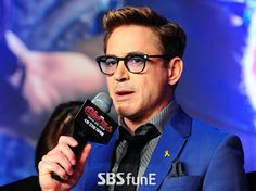 Robert Downey Jr. promoting Avengers: Age of Ultron in Seoul (April 17, 2015)