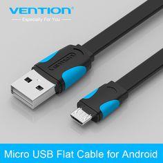 Vención cable micro usb 2.0 cable de teléfono móvil 1 m/1.5 m/2 m data sync cable cargador para android htc samsung sony