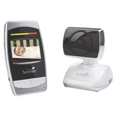 """Summer Infant Ultra Sight Pan/Scan/Zoom 2.5"""" Color Video Baby Monitor"""