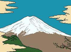 Mount Fuji MS Paint 240x174px http://ift.tt/2t10xJV