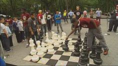 Central Park in NYC a mecca for Chess.