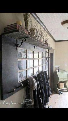 Door coat rack