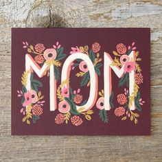 Rose Garden Mother's Day Card