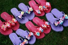 cute favors for a little girls summer birthday party !