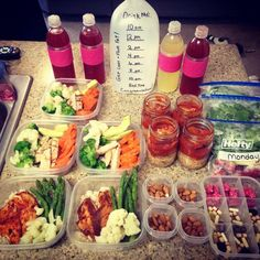 DIY meal prepp | no plan or site behind the pic! but a great idea to get started.
