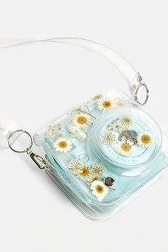 Shop Pressed Flower Instax Mini Camera Case at Urban Outfitters today. Polaroid Instax Mini, Instax Mini Case, Polaroid Camera Case, Urban Outfitters, Polaroid Pictures, Photography Gear, Coque Iphone, Fujifilm Instax, Things To Buy
