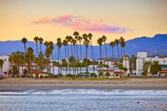 Santa Barbara is a charming, sun-splashed beach town.