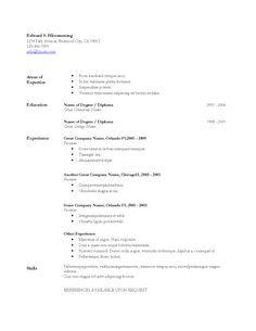 resume editor free entry level resume template free level resume