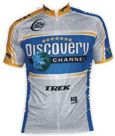 Discovery koszulka kolarska