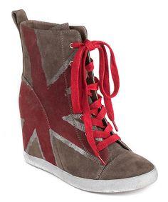 British Liberty Wedge Sneaker- look like a RHCP sneaker to me!