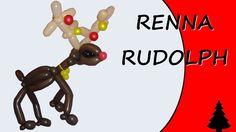 Video tutorial on how to make reindeer rudolph with balloons twisting #christmas #reindeer #reindeerrudolph #rudolph