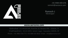 Aaroone Business Cards