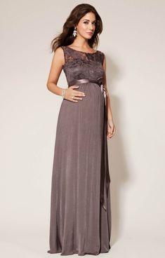 tenue de soirée femme enceinte robe longue et élégante