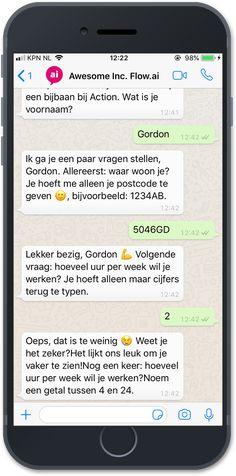 Hoe je een HR Chatbot in kunt zetten voor recruitment, solliciteren via WhatsApp