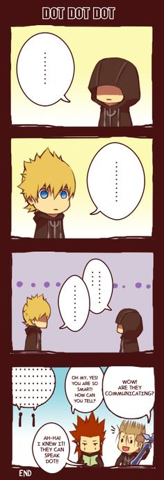 How I felt every time Roxas and Xion said nothing to each other in the game