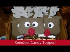 Reindeer Topper, Stampin' Up! Products
