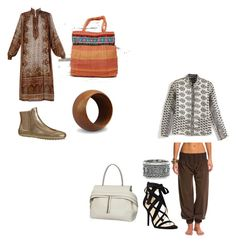 Indian by shaniamelville-1 on Polyvore featuring Tod's, Nine West and NOVICA