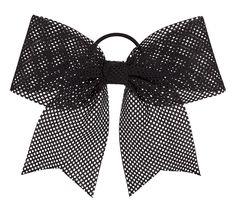 A mesh sporty cheerleading hairbow. This bow is perfect for cheer! Cheerleading Hair Bows, Cheer Hair Bows, Ribbon Hair Bows, Cheerleading Stunting, Weave Hairstyles, Cool Hairstyles, Sporty Hairstyles, Hair Line Up, Herringbone Braid
