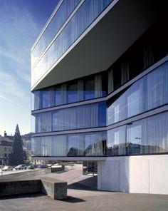 Burkard Meyer - Architekten BSA Wohn- und Geschaftshaus Falken, Baden