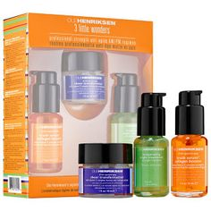 Ole Henriksen - 3 Little Wonders   #sephora  Just ordered this tonight and heard nothing but good things. Cannot wait to try it.