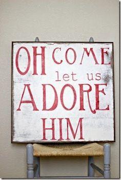 Placa de Madeira com mensagem de Natal