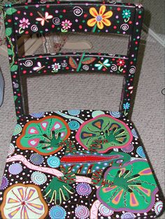 Painted chair #painted #furniture