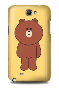 Brown Case by Unofficial. Meet the cutest bear brown. This brown bear case for samsung galaxy note 2, also available for samsung galaxy note 3, samsung aglaxy s3, s4 and iPhone 4,4s,5,5s and 5c. http://zocko.it/LDJI7