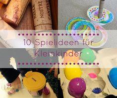 10 DIY Spielideen für Kleinkinder