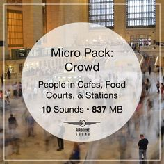 A free sound effect library of crowds, footsteps, and movement in subway stations, cafes, and food courts. Free Sound Effects, Sound Library, Food Court, Libraries, Crowd, People, Cafes, Library Room, Bookcases