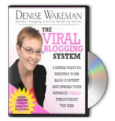 Denise Wakeman is my go-to person for online visibility. Subscribe to her blog here
