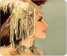 Circus | Carnival | Masquerade | Cabaret Photography at: http://www.pinterest.com/oddsouldesigns/the-secret-circus/ #showgirl #headdress
