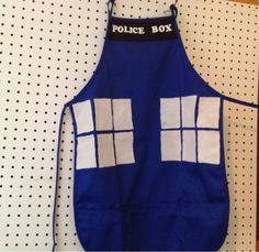 Confessions of an ADD Housewife: TARDIS apron