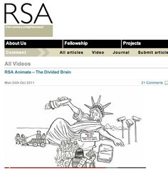 Great inspirational and informative videos from RSA.