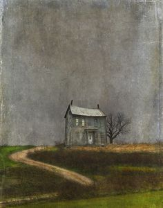 """Mozart and Cherry Pie"" by Jamie Heiden  - The light on upstairs, always"