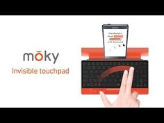 moky keyboard combines a touchpad to allow users to interact with finger gestures