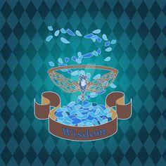 Ravenclaw's Diadem by luvlemontea on DeviantArt Harry Potter Pictures, Harry Potter Facts, Harry Potter Movies, Harry Potter Hogwarts, Ravenclaw Colors, Ravenclaw Logo, Hogwarts Houses Crests, Hogwarts Crest, Hogwarts Houses