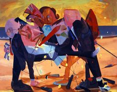 Dana Schutz (1976) is an artist living and working in New York.