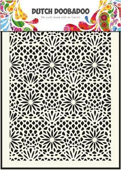 470.715.005 Dutch Doobadoo Mask Art Flower Formaat A5