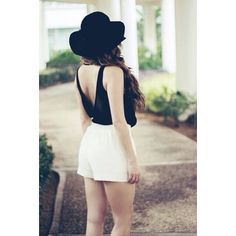 Wearing A Hat, Skater Skirt, Backless, Hats, Skirts, How To Wear, Dresses, Fashion, Vestidos