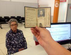 Hilda Monteiro Terra de Souza foi ao Poupatempo Itapetininga tirar 2ª via do RG. O último RG dela foi emitido em 07 de fevereiro de 1942. Hilda nasceu em 07/01/1919, em São Miguel  Arcanjo.
