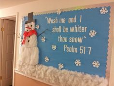 Sunday School Bulletin Boards Bing Images Bulletin Board Ideas, The End Of Year Church Bulletin - Hot Trending Now Bible Bulletin Boards, Christian Bulletin Boards, Winter Bulletin Boards, Preschool Bulletin Boards, Bulletin Board Ideas For Church, Bullentin Boards, Sunday School Rooms, Sunday School Classroom, Sunday School Lessons